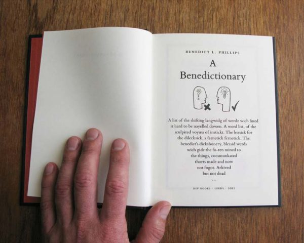 A Benedictionary